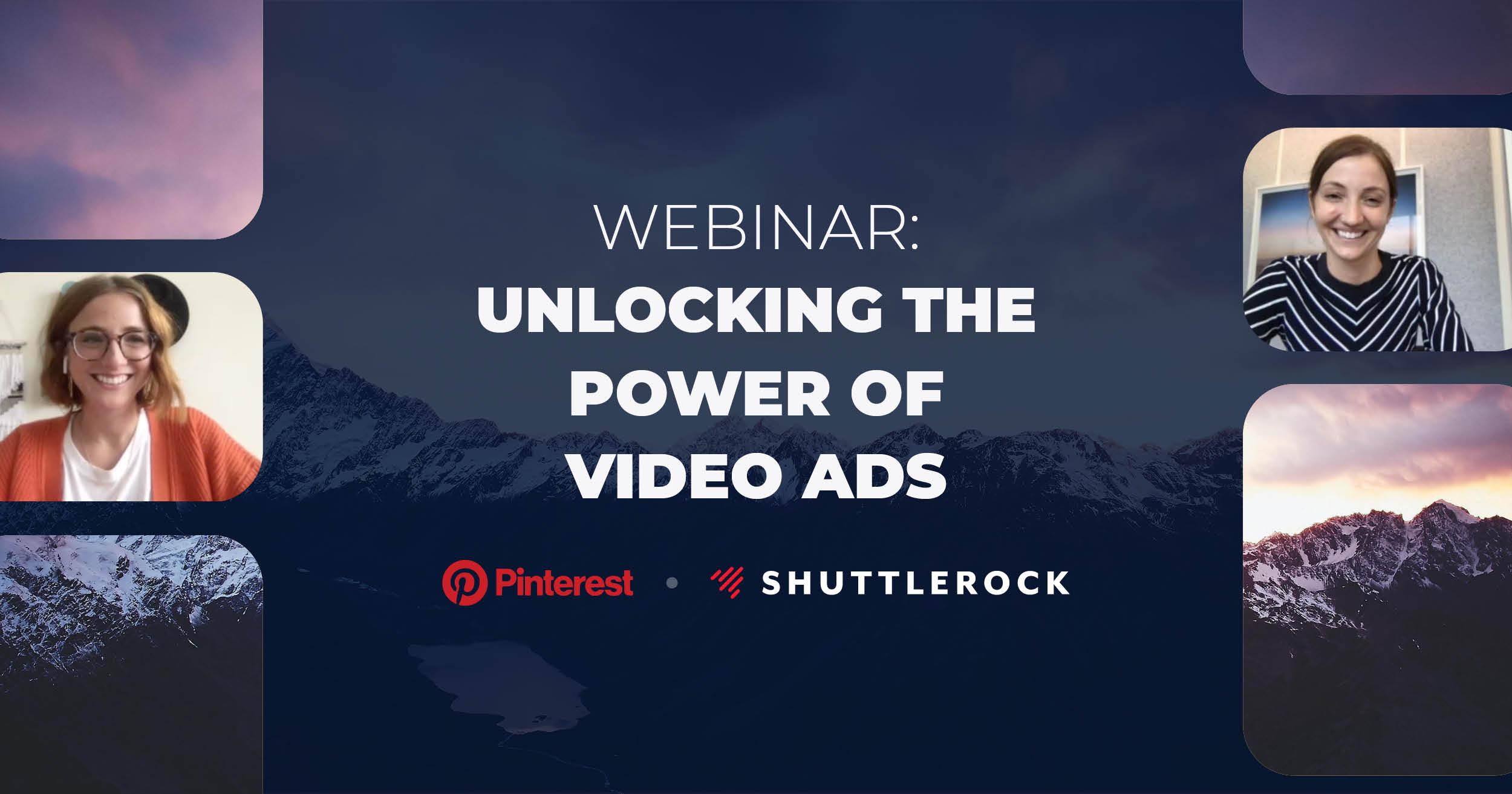 Pinterest + Shuttlerock: Unlocking The Power Of Video Ads